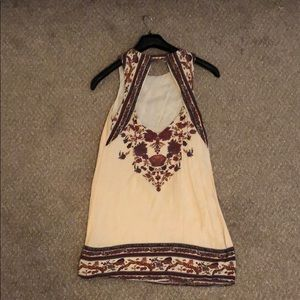 Score Open Back Bohemian Dress
